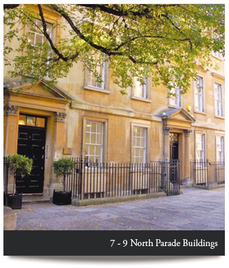 7-9 North Parade Buildings, Bath, City Centre Luxury Self-Catering Holiday Apartments